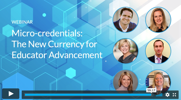 Webinar | Micro-credentials: The New Currency for Educator Advancement