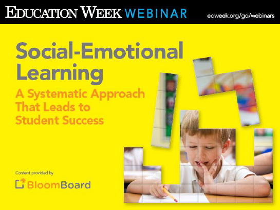 Webinar: Social Emotional Learning